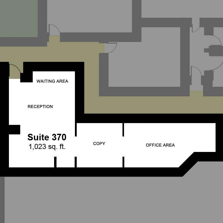 Floor plan image of Suite 370