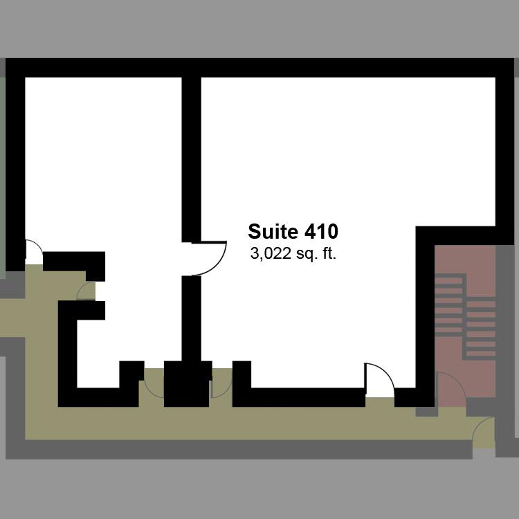 Floor plan image of Suite 410