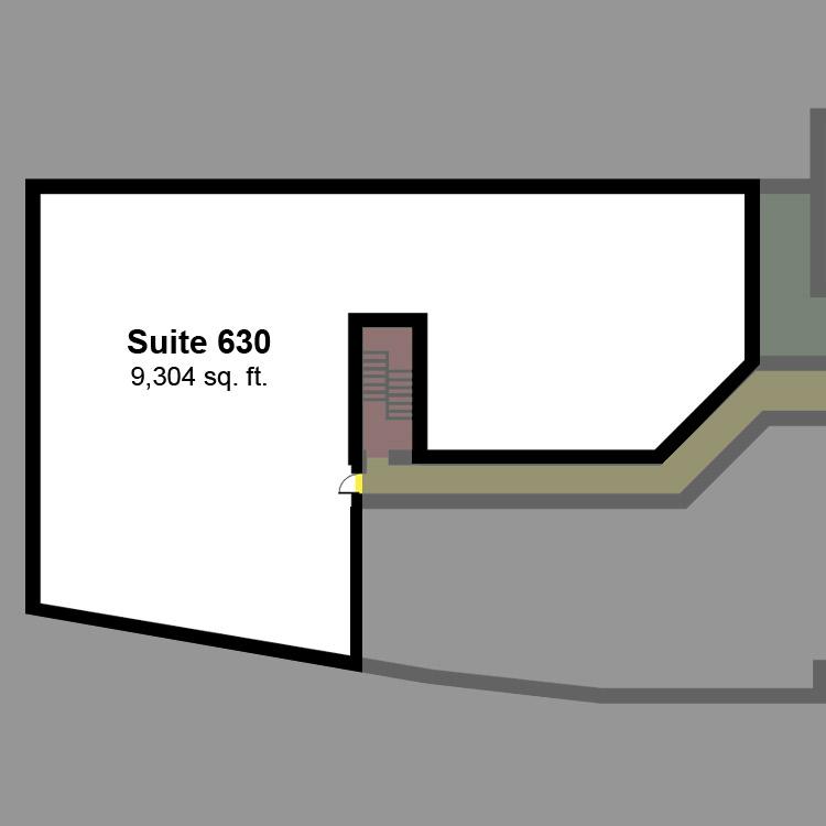 Floor plan image of Suite 630