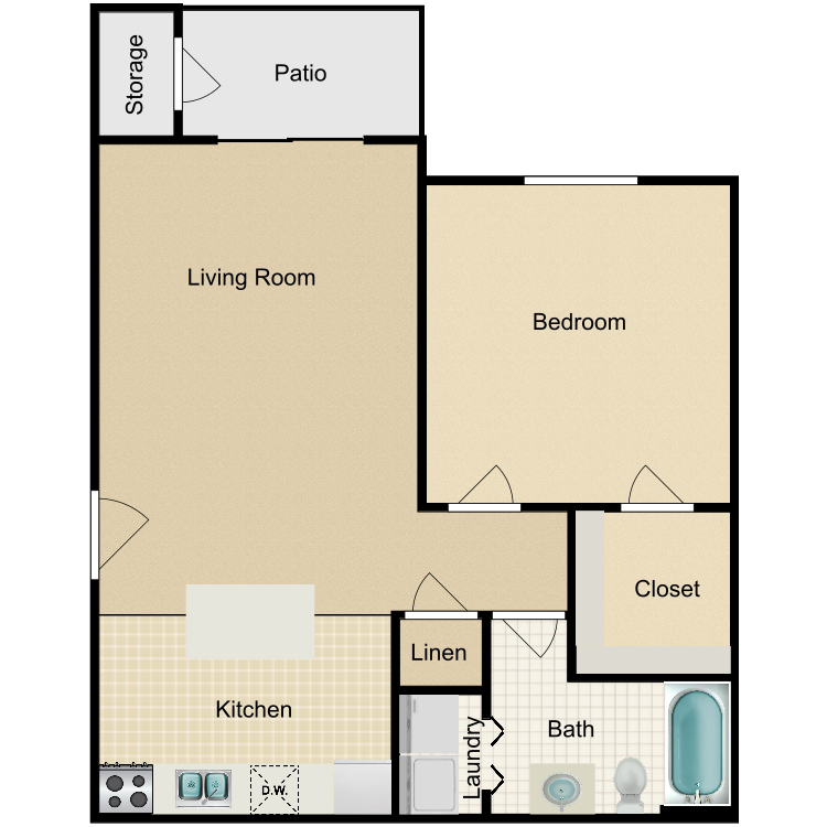 Floor plan image of Azalea