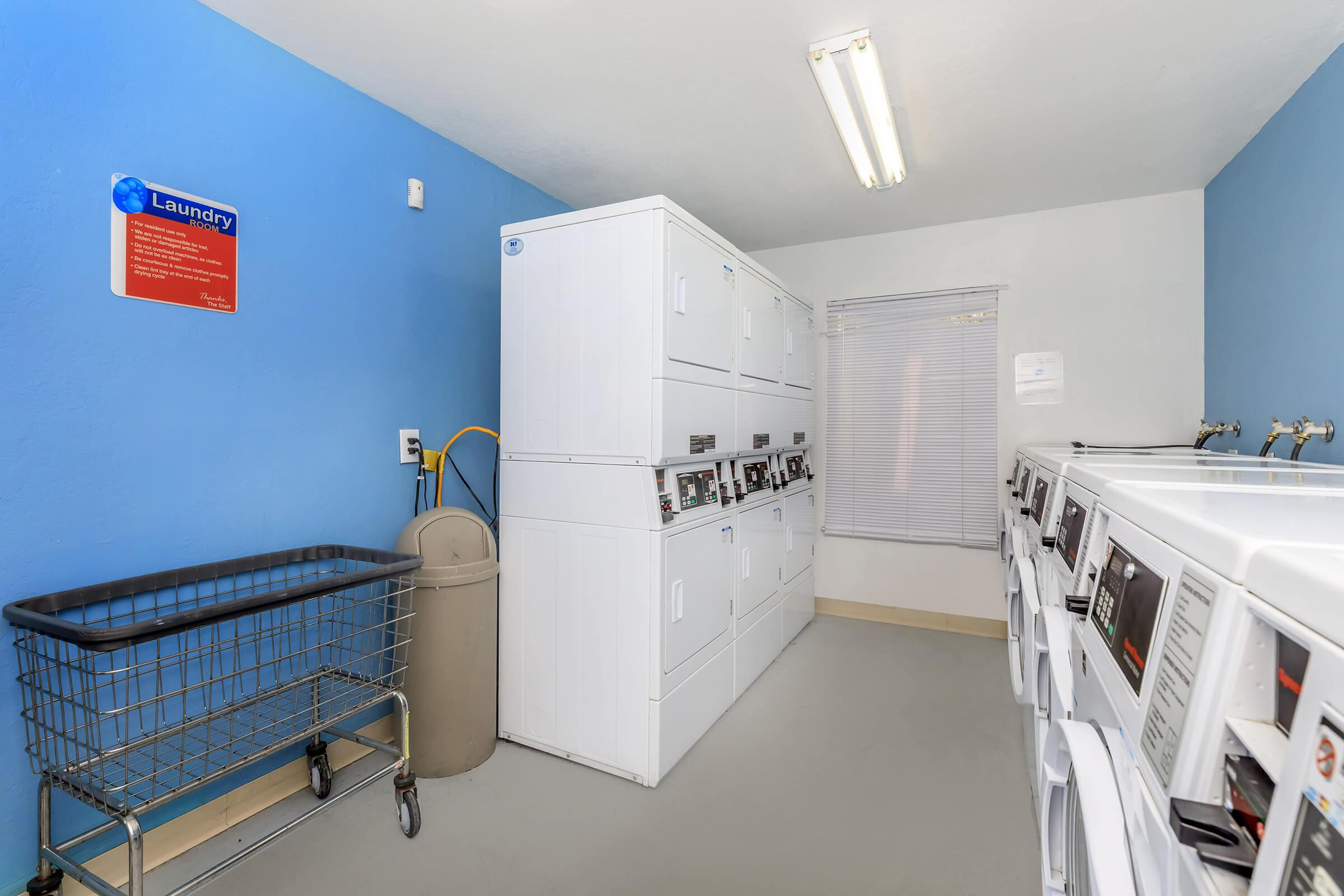 Laundry at Fairway Village in San Ramon CA