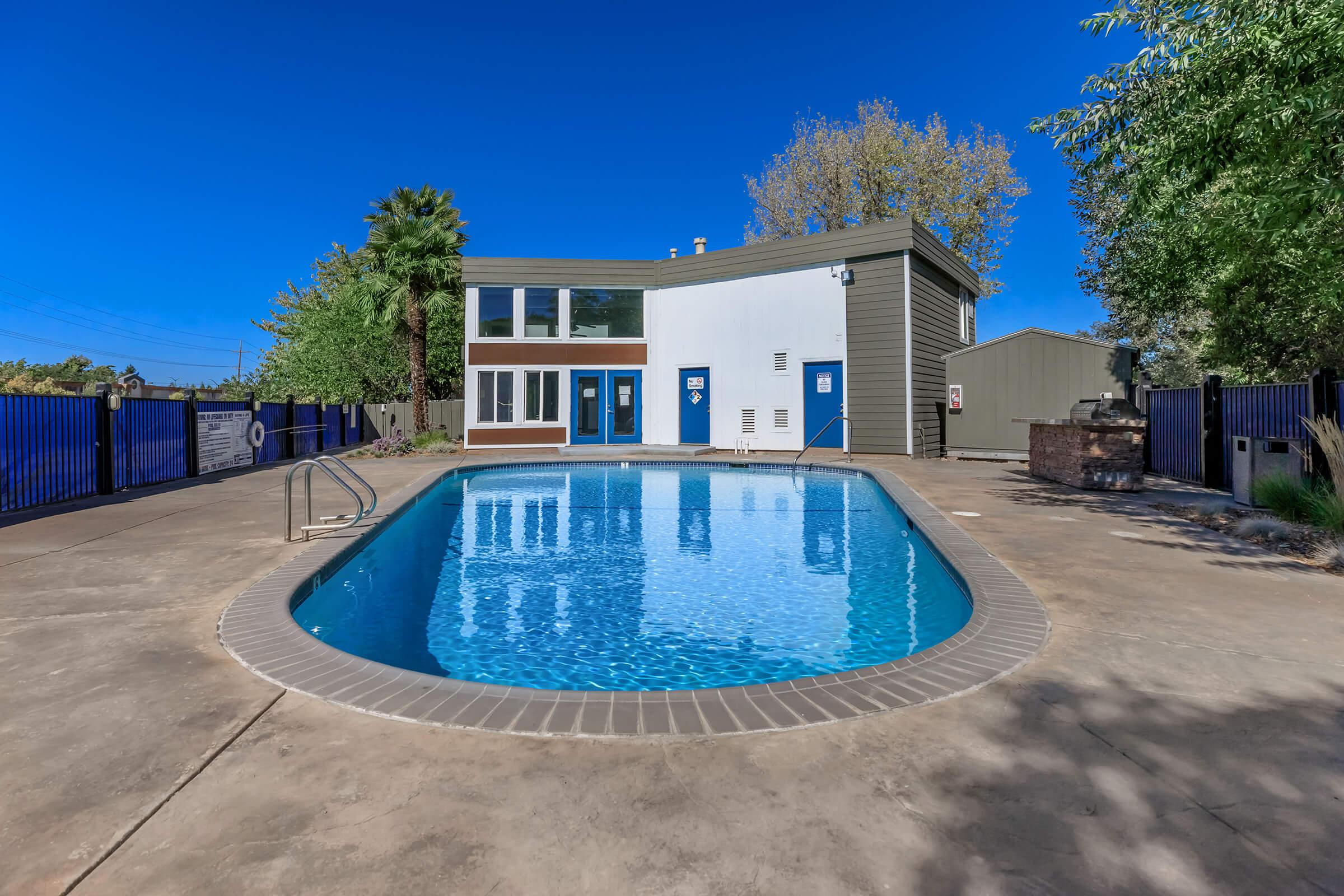 Pool at Fairway Village in San Ramon CA