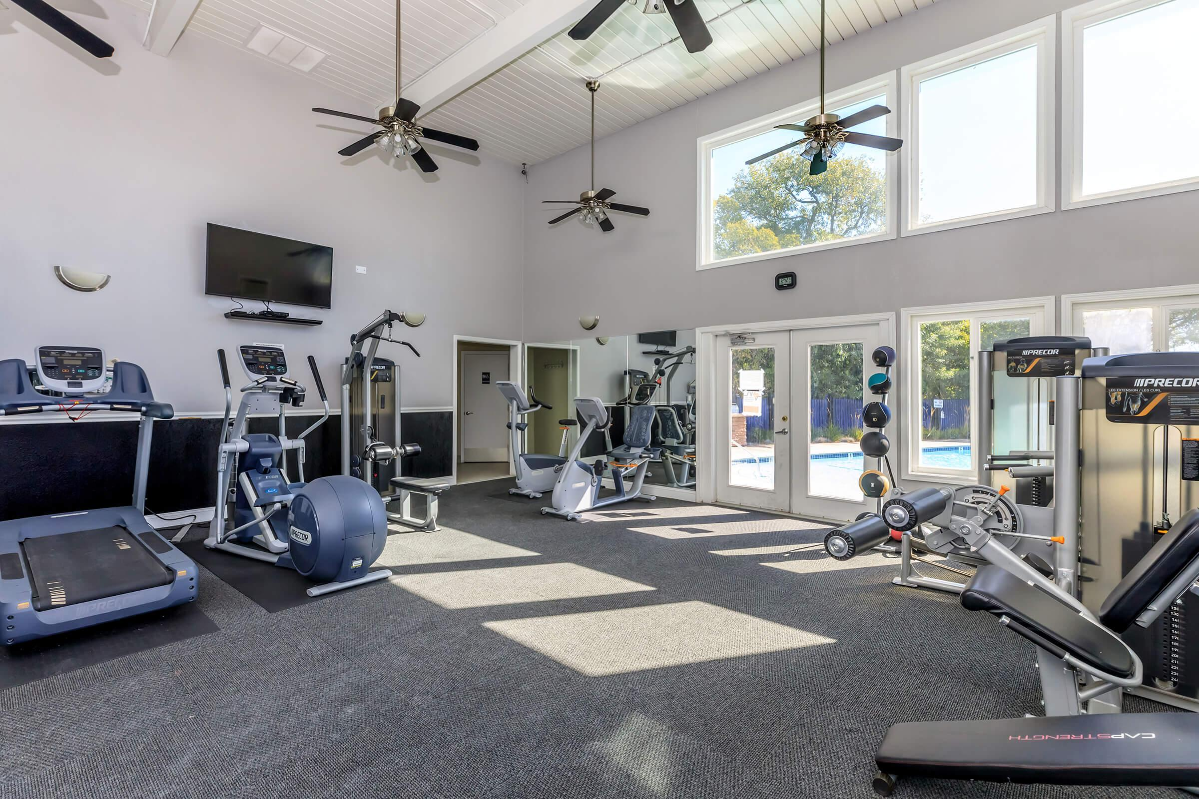 Fitness Center at Fairway Village in San Ramon CA