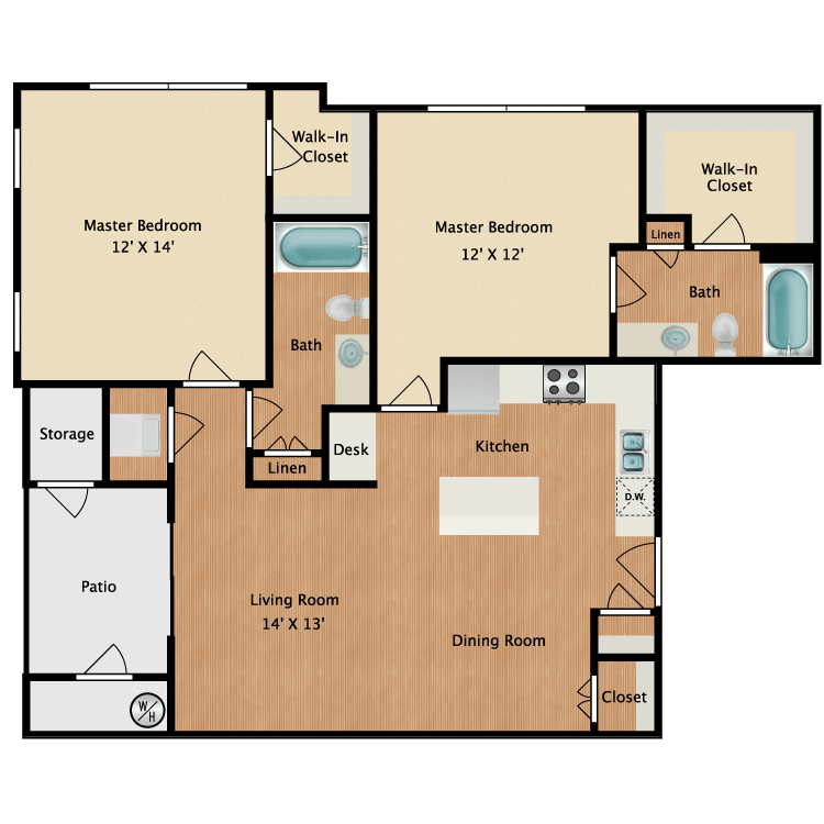 Fort Collins 2 Bedroom Apartments: Apartments In Fort Collins, CO