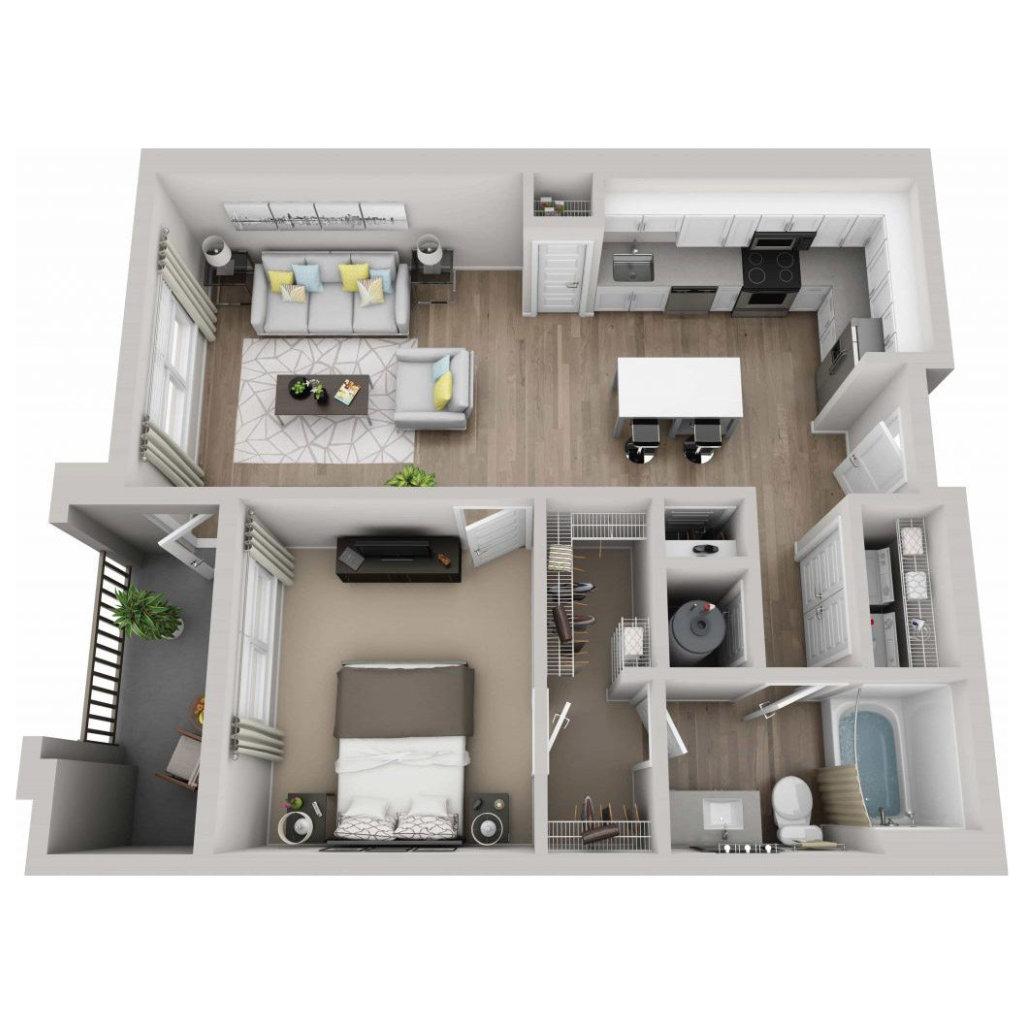 Floor plan image of Azure