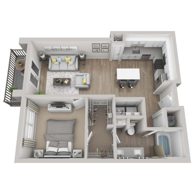 Floor plan image of Cobalt