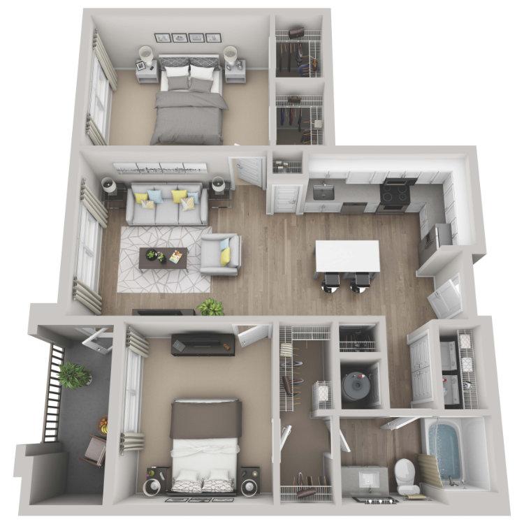 Floor plan image of Fern