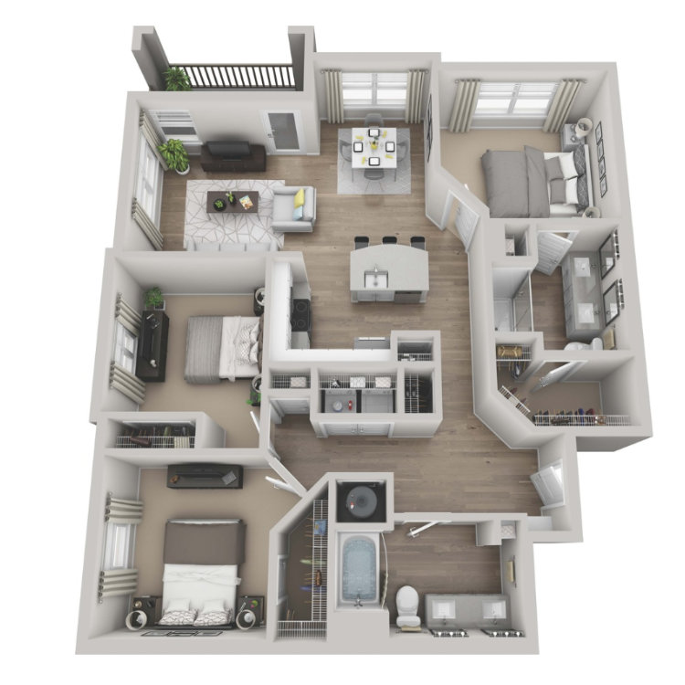 Floor plan image of Merlot