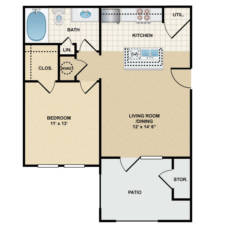 Floor plan image of Stonepost Ranch - Cheyenne