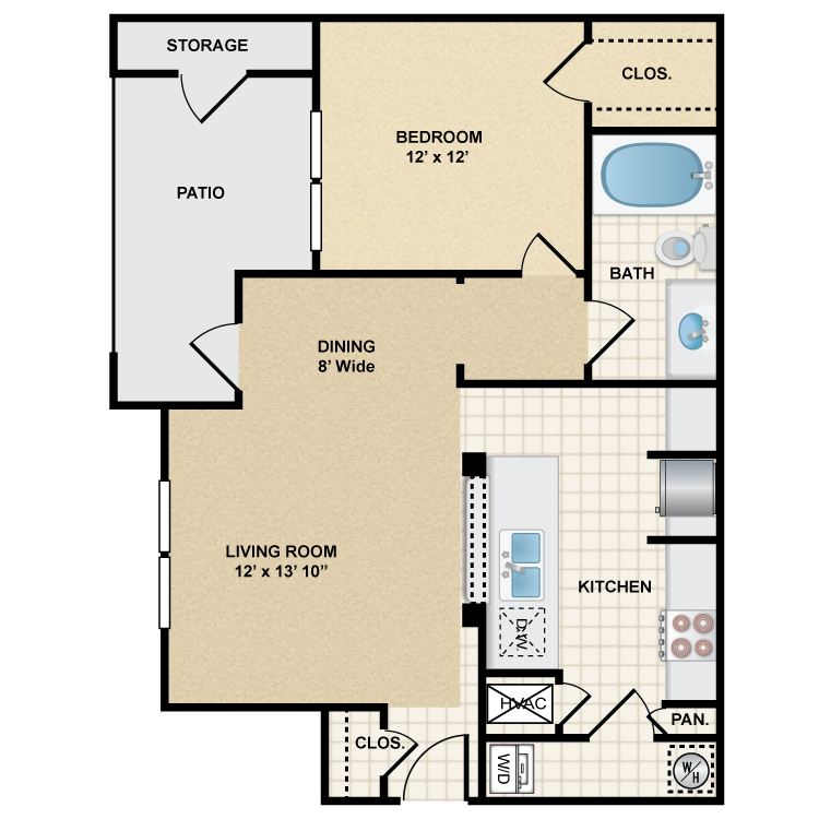 Floor plan image of Stonepost Ranch - Frisco