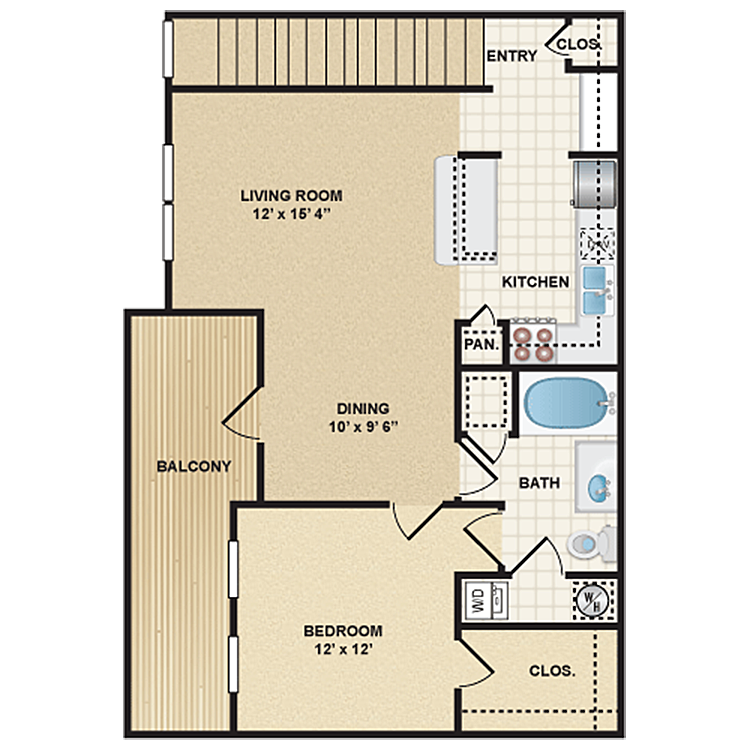 Floor plan image of Stonepost Ranch - Bandera