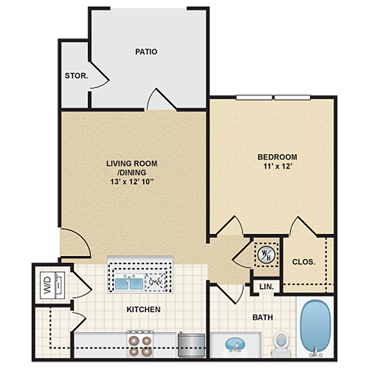 Floor plan image of Stonepost Valley - Cody