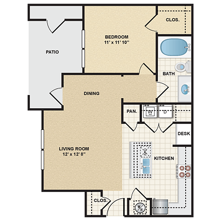 Floor plan image of Stonepost Valley - Fremont
