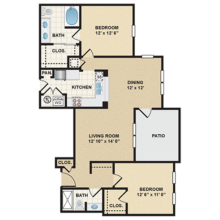 Floor plan image of Stonepost Ranch - Henly