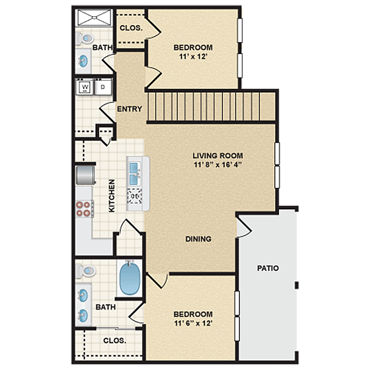 Floor plan image of Stonepost Valley - Sheridan