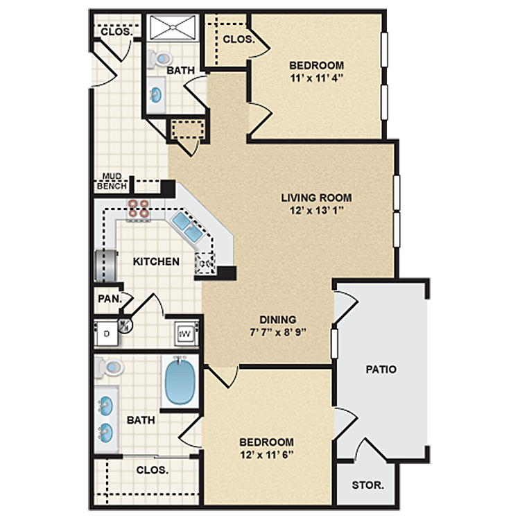 Floor plan image of Stonepost Ranch - Sonoma
