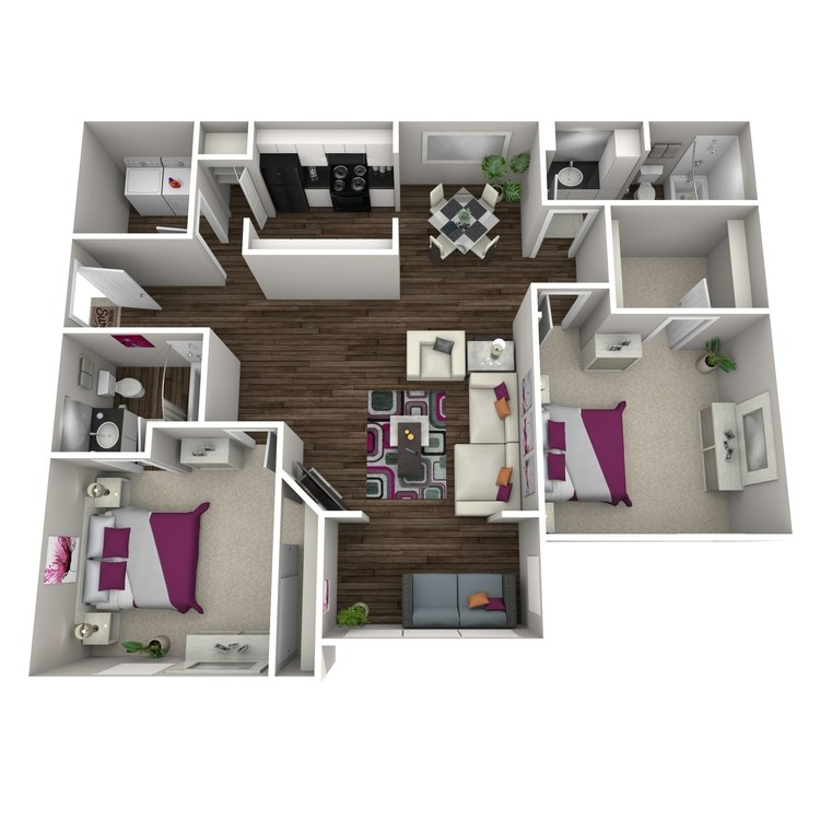 Floor plan image of Begonia