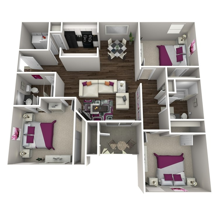 Floor plan image of Calluna