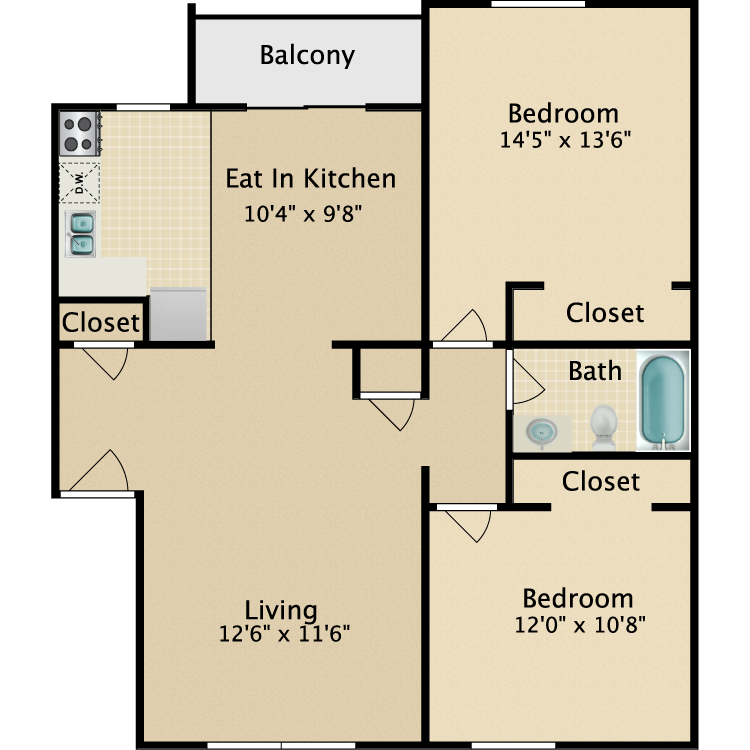 Floor plan image of The Whaler