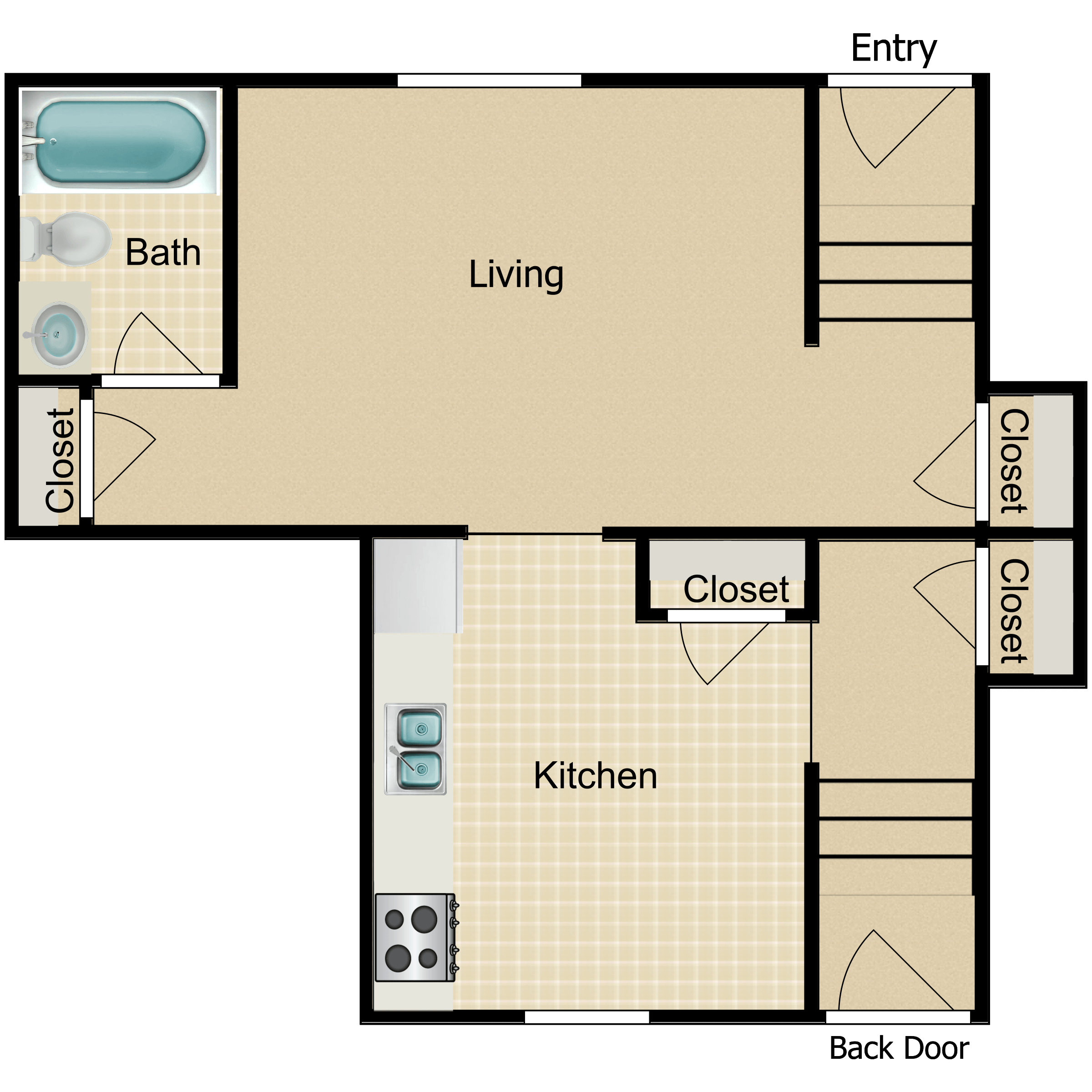 Floor plan image of The Sherman