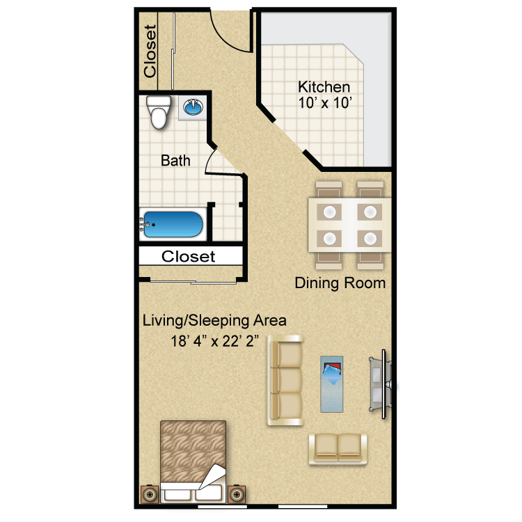 The Beacon floor plan image