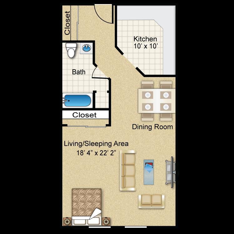 Floor plan image of The Beacon
