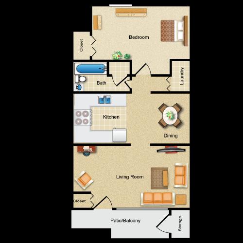 Floor plan image of The Greenport