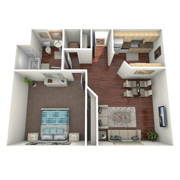 Floor plan image of The Tivoli