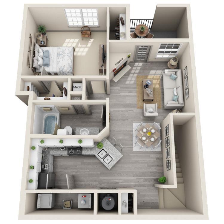 Floor plan image of The Bizzy