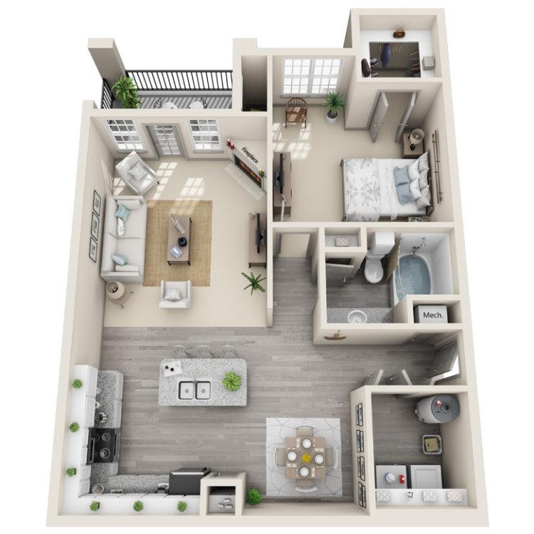 Floor plan image of The Ella