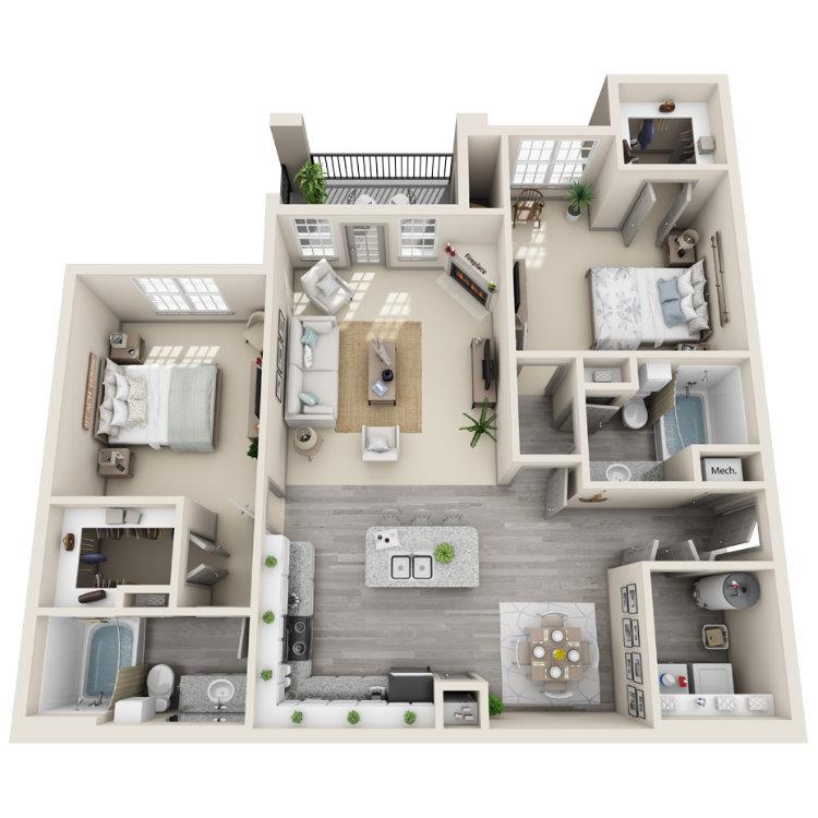 Floor plan image of The Seminole