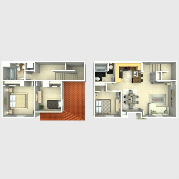 Floor plan image of 3 Bedroom B