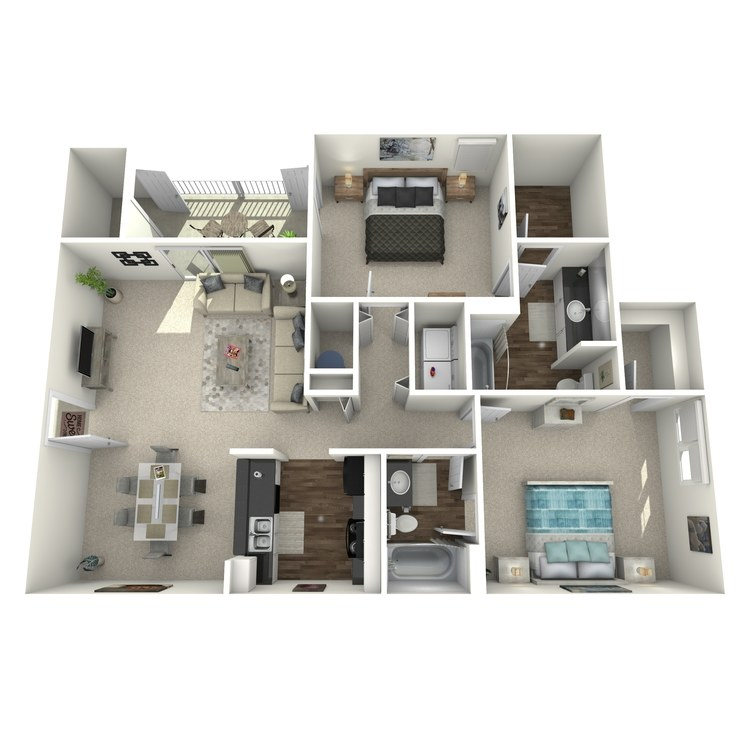 Floor plan image of The Oleander