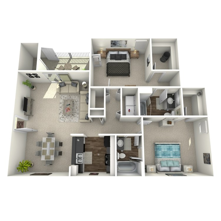 Floor plan image of The Tranquility