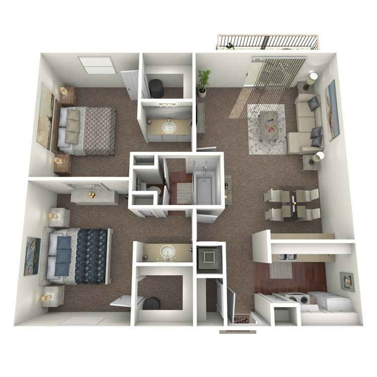 Floor plan image of Aruba