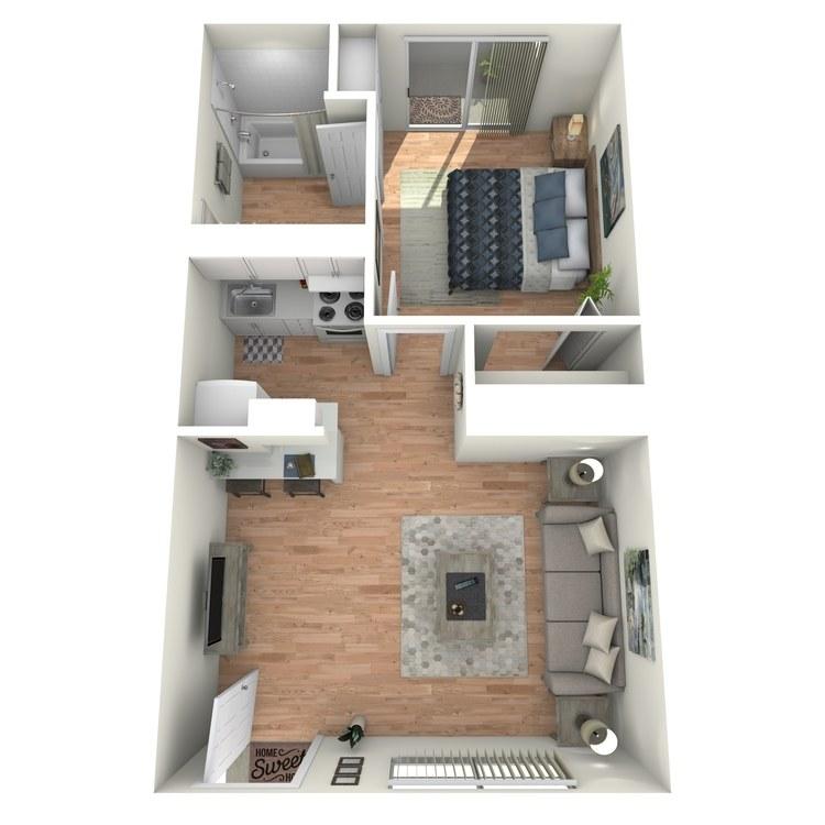Floor plan image of The Solano