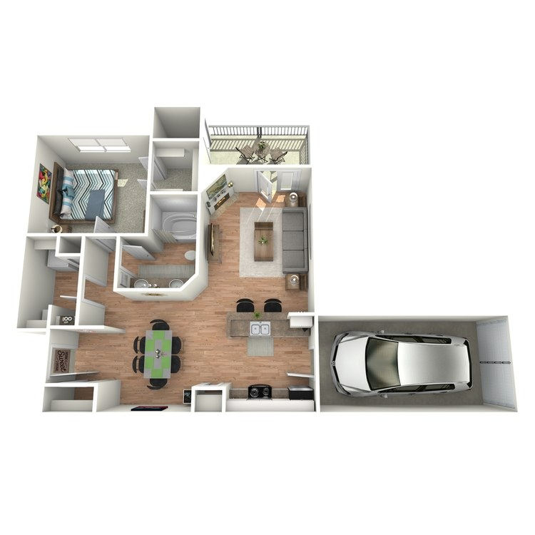 Floor plan image of Pebble Beach - A2 - G