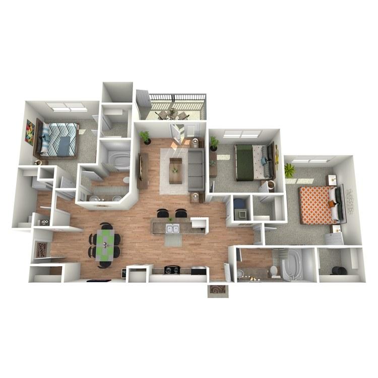 Floor plan image of St Andrews - C1 - G