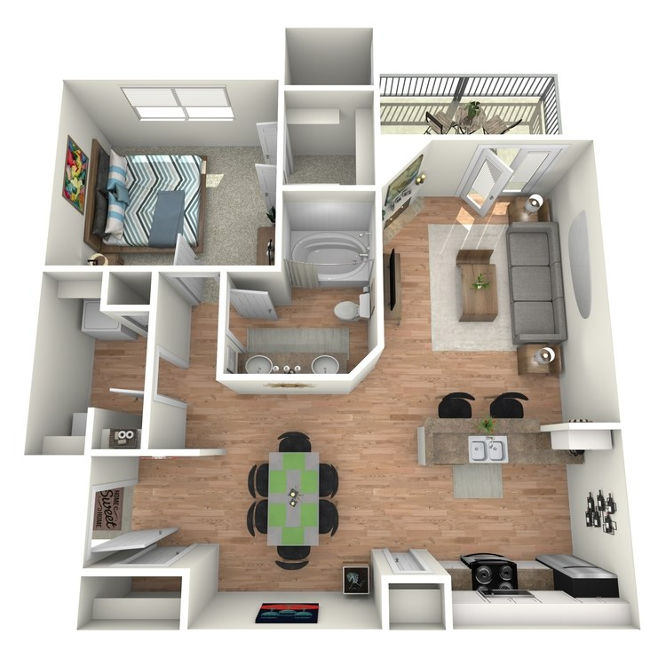 Floor plan image of Pebble Beach - A2