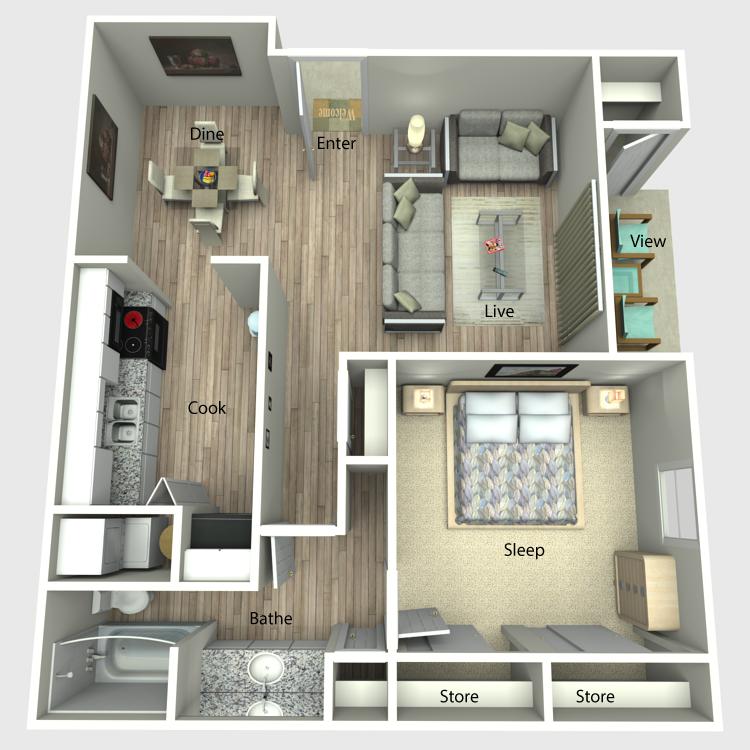 The Reprieve floor plan image