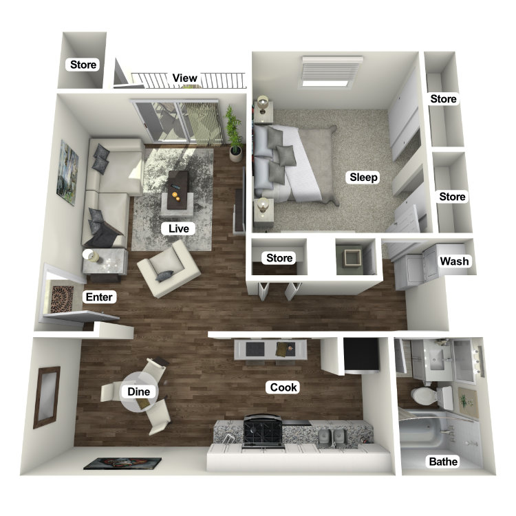 Floor plan image of The Reprieve