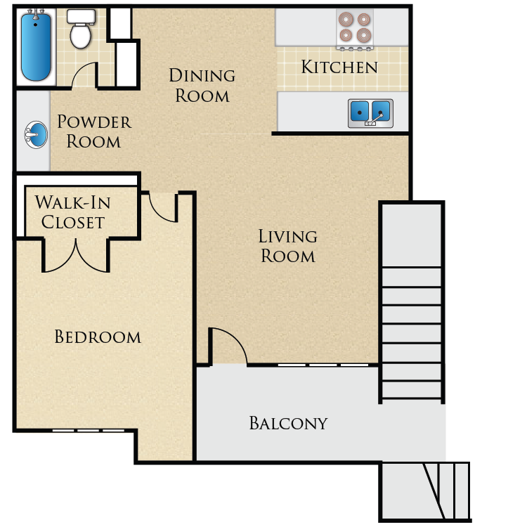 Floor plan image of Cottage