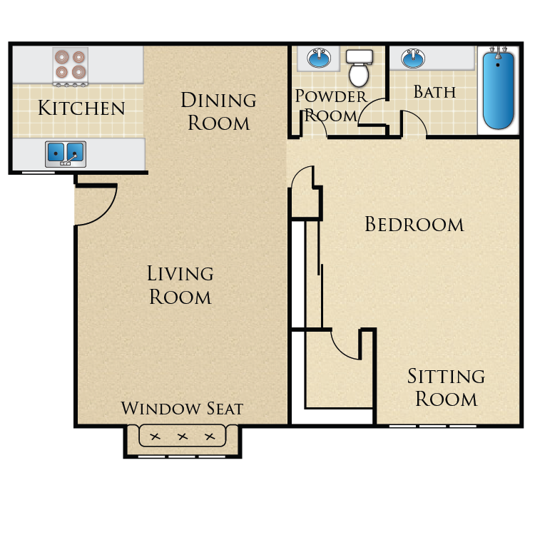 Floor plan image of Master Suite