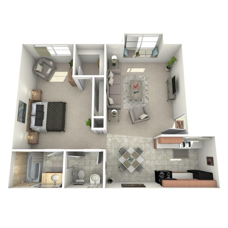 Floor plan image of Master Suite