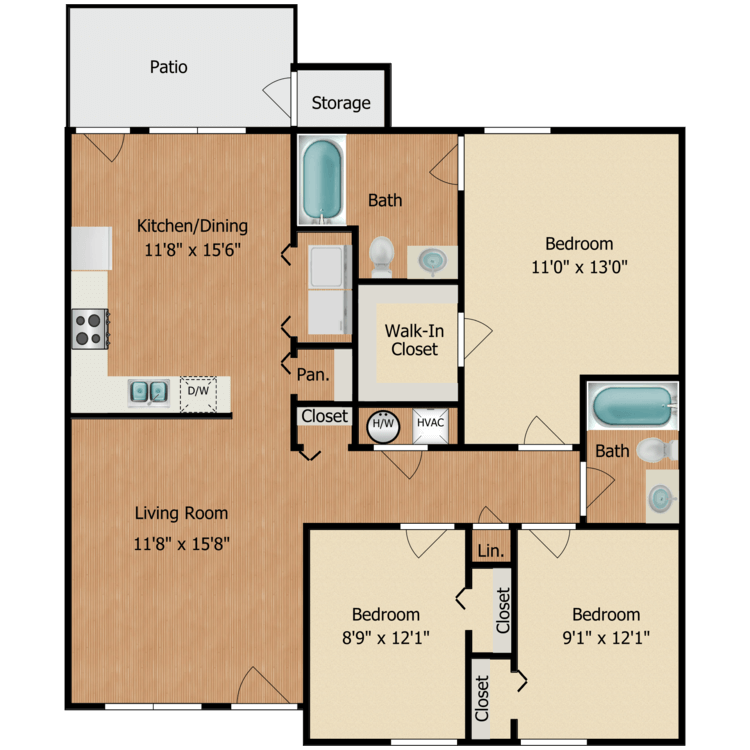 Floor plan image of Flat
