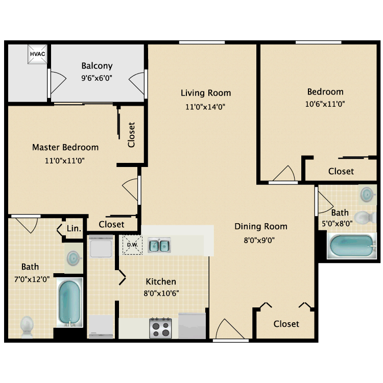 Floor plan image of Ashbourne