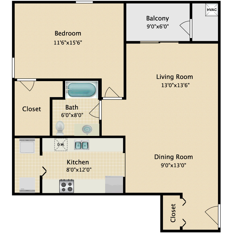Floor plan image of Carlton
