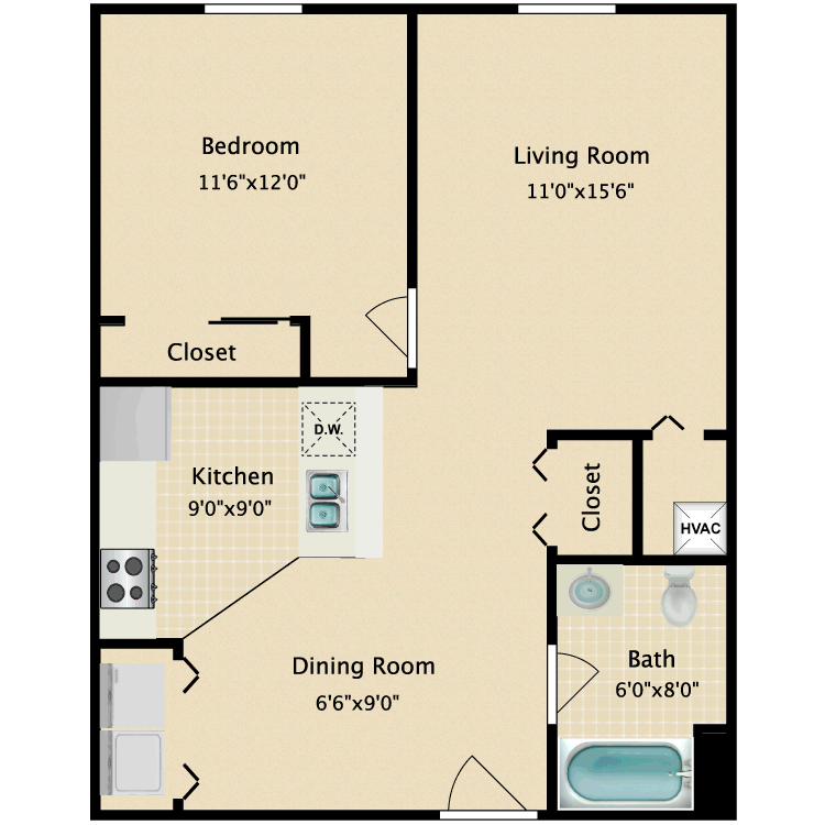 Floor plan image of Connor