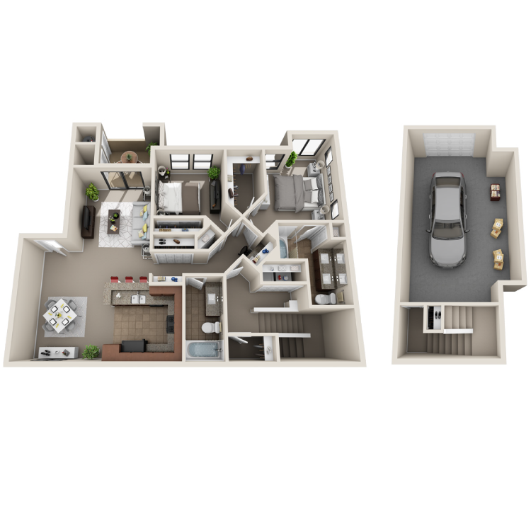 Floor plan image of Mirage