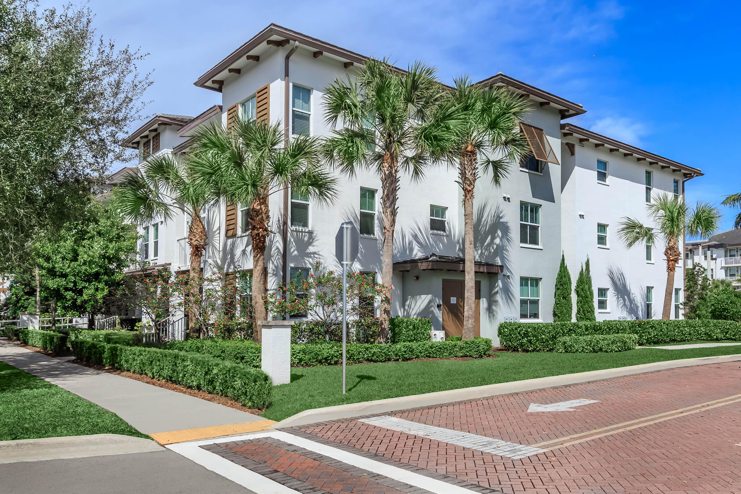 Landscaping at The Allure Apartments in Jupiter, FL